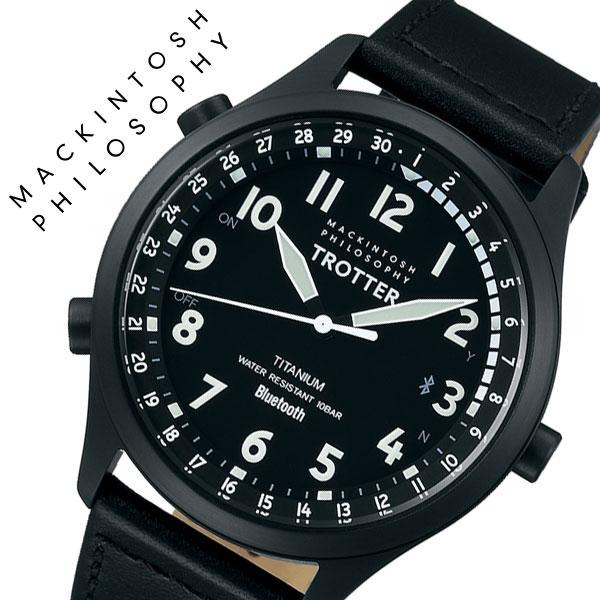 【5年保証対象】セイコー 腕時計 SEIKO 時計 セイコー時計 SEIKO腕時計 マッキントッシュ フィロソフィー トロッター MACKINTOSH PHILOSOPHY TROTTER メンズ ブラック FCZB997 [ 人気 ブランド おすすめ 新作 ファッション おしゃれ カジュアル ビジネス スーツ カレンダー ]