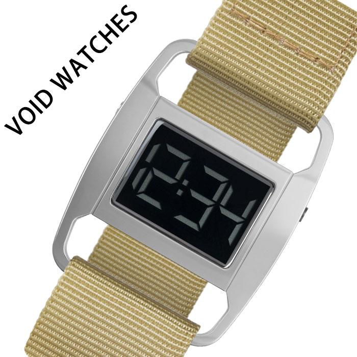 [当日出荷] ヴォイド 腕時計 VOID 時計 ボイド 時計 PXR5 ユニセックス メンズ レディース シルバー VID020085 [ 人気 ブランド 防水 デザイン デジタル ストラップ カジュアル ファッション おしゃれ プレゼント ギフト ]送料無料