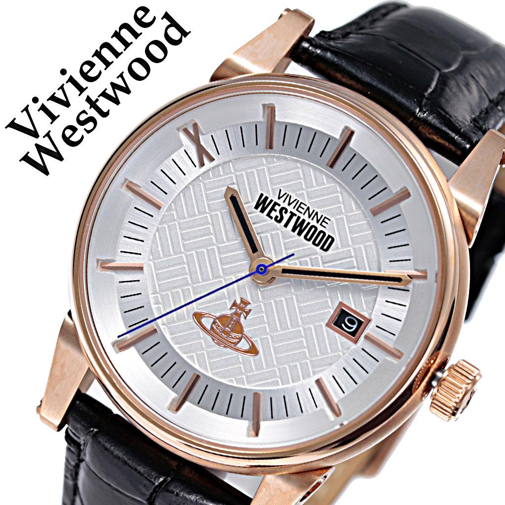 ヴィヴィアンウエストウッド 腕時計 VivienneWestwood 時計 ヴィヴィアン ウエストウッド Vivienne Westwood メンズ シルバー VV065SWHBK [ 人気 ブランド おすすめ 防水 ビビアン ウェストウッド レザー ベルト カジュアル シンプル 上品 クラシカル オシャレ チャーム ]