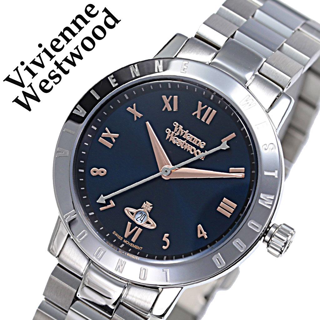 ヴィヴィアンウエストウッド 腕時計 VivienneWestwood 時計 ヴィヴィアン ウエストウッド Vivienne Westwood レディース ブルー VV152NVSL [ 人気 ブランド おすすめ 防水 ビビアン ウェストウッド ステンレス ベルト カジュアル シンプル 上品 レトロ オシャレ 可愛い ]