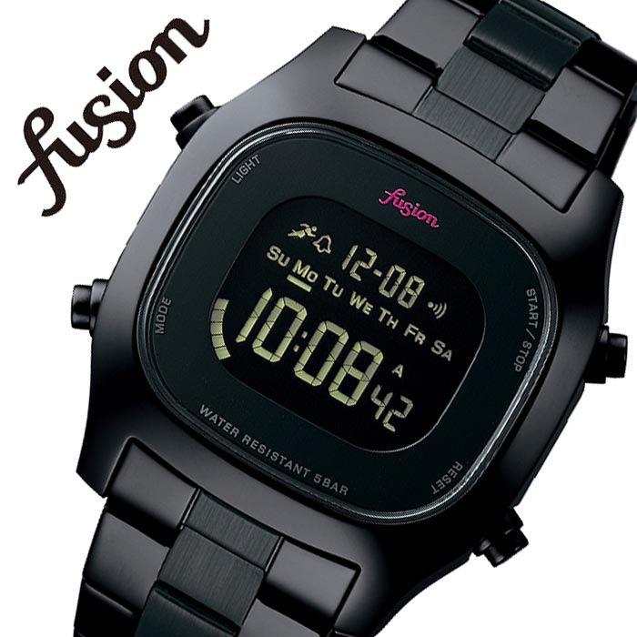 【5年保証対象】セイコーアルバ 腕時計 SEIKOALBA 時計 セイコー アルバ SEIKO ALBA フュージョン FUSION 80'fashion ユニセックス メンズ レディース ネガティブDQ AFSM401 [ 正規品 人気 ブランド デジタル アラーム カレンダー レトロ カジュアル シンプル 80年代 古着 ]