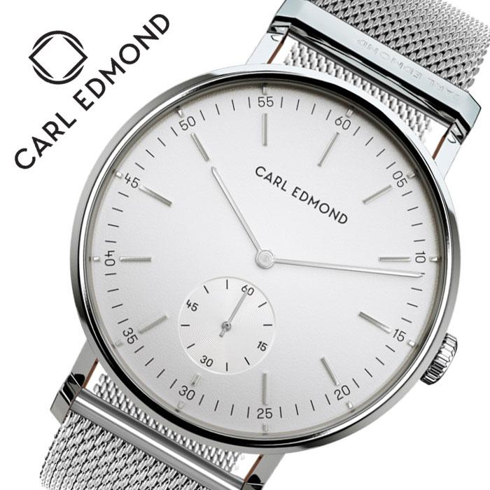 [当日出荷] カール エドモンド 腕時計 CARL EDMOND 時計 カール エドモンド CARL EDMOND リョーリット Ryolito レディース ホワイト CER3201-M16 [ 人気 ブランド おすすめ 正規品 北欧 かわいい おしゃれ ファッション カジュアル プレゼント ギフト ]送料無料