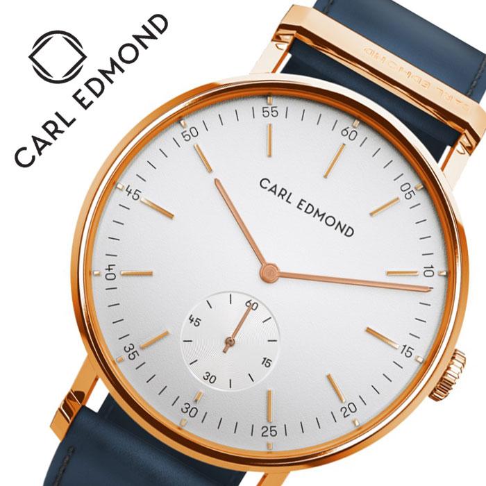 [当日出荷] カール エドモンド 腕時計 CARL EDMOND 時計 カール エドモンド CARL EDMOND リョーリット Ryolito レディース ホワイト CER3211-BLR16 [ 人気 ブランド おすすめ 正規品 北欧 かわいい おしゃれ ファッション カジュアル プレゼント ギフト ]送料無料