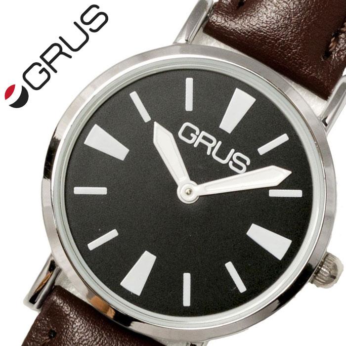 グルス 腕時計 GRUS 時計 ロービジョンウォッチユニセックス メンズ レディース ブラック GRS007-06 [ 人気 ブランド おすすめ 弱視者用 ロービジョン 軽量 薄型 視覚障がい者用 高齢者 年配 プレゼント ギフト ]