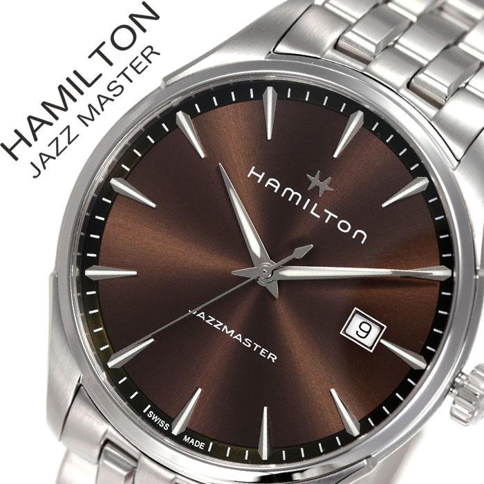 ハミルトン 腕時計 HAMILTON 時計 ハミルトン 時計 HAMILTON 腕時計 ジャズマスター ジェント JAZZMASTER GENT メンズ ブラウン H32451101 [ 人気 ブランド おすすめ シンプル ファッション おしゃれ カジュアル スーツ フォーマル ビジネス 上品 プレゼント ギフト ]