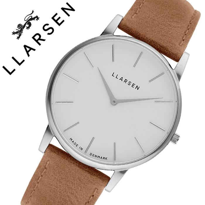 エルラーセン 腕時計 LLARSEN 時計 エル ラーセン L LARSEN オリバー Oliver メンズ ホワイト LL147SWCM 人気 ブランド おすすめ 正規品 北欧 おしゃれ ファッション カジュアル ビジネス フォーマル デンマーク プレゼント 父の日 ギフト