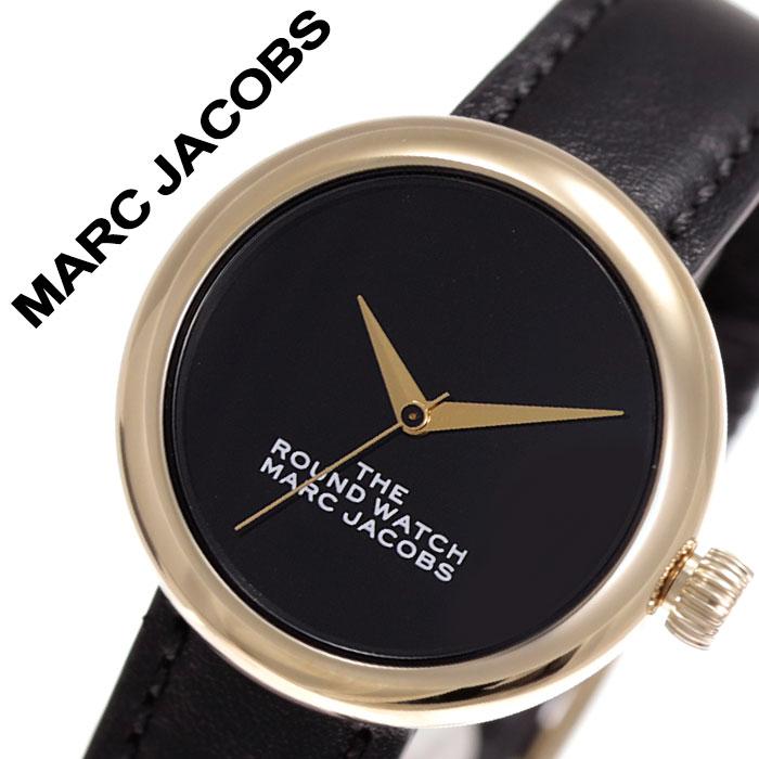 マークジェイコブス 腕時計 MarcJacobs 時計 ザ ラウンドウォッチ The Round Watch レディース 女性 向け ブラック MJ0120179282 [ 人気 ブランド シンプル マークバイマークジェイコブス おしゃれ ファッション カジュアル 流行 トレンド かわいい ギフト プレゼント ]