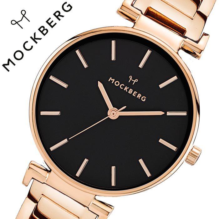 モックバーグ 腕時計 MOCKBERG 時計 オリジナル 34 Original 34 レディース ブラック MO636 [ 正規品 人気 ブランド ステンレス メタル ベルト シンプル シック 大人 かわいい おしゃれ クラシック 流行り アクセサリー 大学生 仕事 彼女 妻 プレゼント ギフト ]送料無料