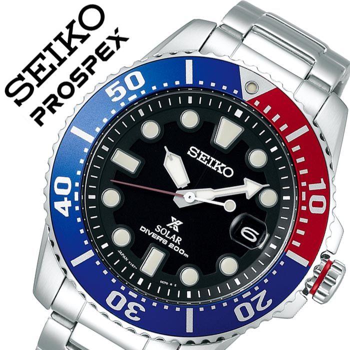 [当日出荷] 【5年保証対象】セイコー 腕時計 SEIKO 時計 プロスペックス ダイバー ダイバーズウォッチスキューバ PROSPEX メンズ ブラック SBDJ047 人気 ブランド 防水 ペプシ セイコ-ペプシ ダイバー ダイバーズウォッチ 潜水 海 アウトドア おしゃれ