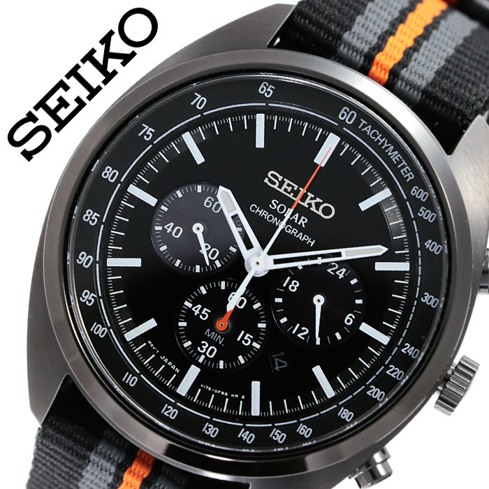セイコー 腕時計 SEIKO 時計 リクラフト シリーズ RECRAFT SERIES メンズ ブラック SSC669 人気 ブランド 海外限定モデル リクラフトシリーズ おすすめ ビジネス ファッション おしゃれ カジュアル スーツ カレンダー プレゼント 父の日 ギフト