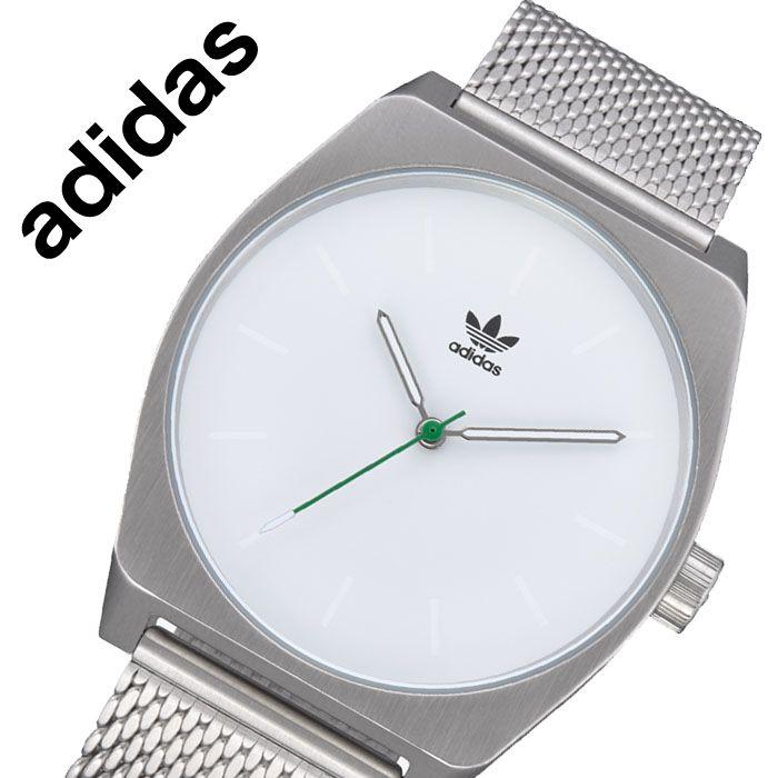 アディダス 腕時計 adidas 時計 アディダス 時計 adidas 腕時計 プロセス M1 PROCESS M1 メンズ レディース ホワイト Z02-3244-00 [ 人気 ブランド カジュアル スポーツ ファッション おしゃれ ストリート プレゼント ギフト ]送料無料