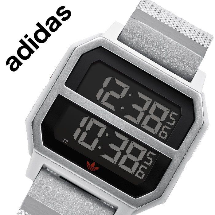 [当日出荷] アディダス 腕時計 adidas 時計 アディダス 時計 adidas 腕時計 アーカイブ R2 ARCHIVE R2 メンズ レディース 液晶 Z16-3199-00 [ 人気 ブランド カジュアル スポーツ ファッション おしゃれ ストリート デジタル プレゼント ギフト ]