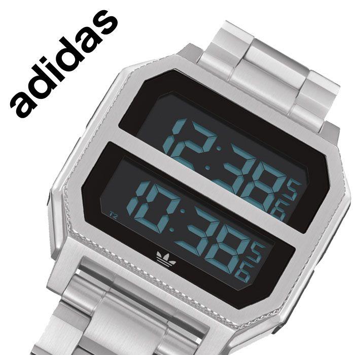 [当日出荷] アディダス 腕時計 adidas 時計 アディダス 時計 adidas 腕時計 アーカイブ MR2 ARCHIVE MR2 メンズ レディース 液晶 Z21-1920-00 [ 人気 ブランド カジュアル スポーツ ファッション おしゃれ ストリート プレゼント ギフト ]送料無料