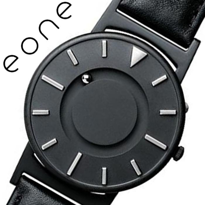 イーワン 腕時計 EONE 時計 ブラッドリー エッジ Bradley Edge メンズ レディース ユニセックス ブラック BR-EDGE-DZ [ 正規品 おしゃれ シンプル 人気 おすすめ ブランド ビジネス スーツ 個性的 ペアウォッチ ファッション レザー 革 ベルト プレゼント ギフト ]