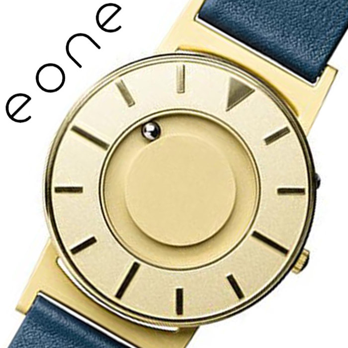 イーワン 腕時計 EONE 時計 ブラッドリー ラックス ゴールド Bradley Lux Gold メンズ レディース ユニセックス ゴールド BR-LUX-GLD [ 正規品 おしゃれ シンプル 人気 おすすめ ブランド ビジネス スーツ 個性的 ペアウォッチ ファッション レザー 革 ベルト プレゼント ]