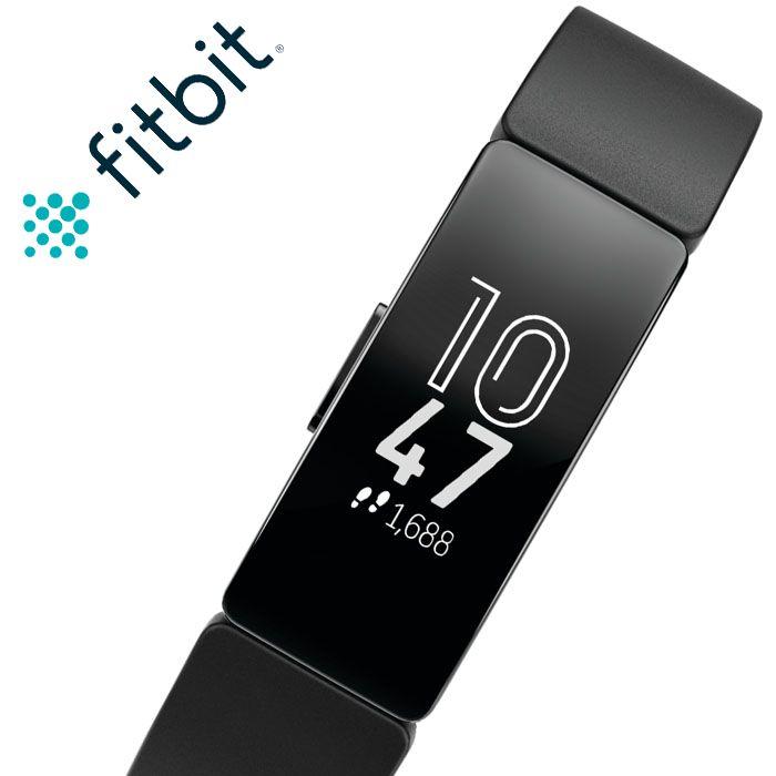 フィットビット 腕時計 Fitbit 時計 フィット ビット Fit bit スマートウォッチ インスパイア inspire メンズ レディース FB412BKBK [ 人気 ブランド おすすめ 防水 スポーツ トレーニング ジム ランニング 通知 機能 iPhone 連携 健康管理 スポーツウォッチ ウェアラブル ]