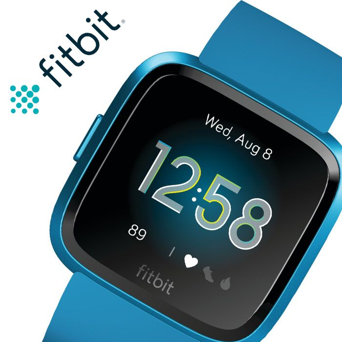 フィットビット 腕時計 Fitbit 時計 フィット ビット スマートウォッチ ヴァーサライト Versa-Lite メンズ レディース FB415BUBU [ 人気 ブランド おすすめ 防水 スポーツ トレーニング ジム ランニング 通知 機能 iPhone 連携 健康管理 スポーツウォッチ ウェアラブル ]