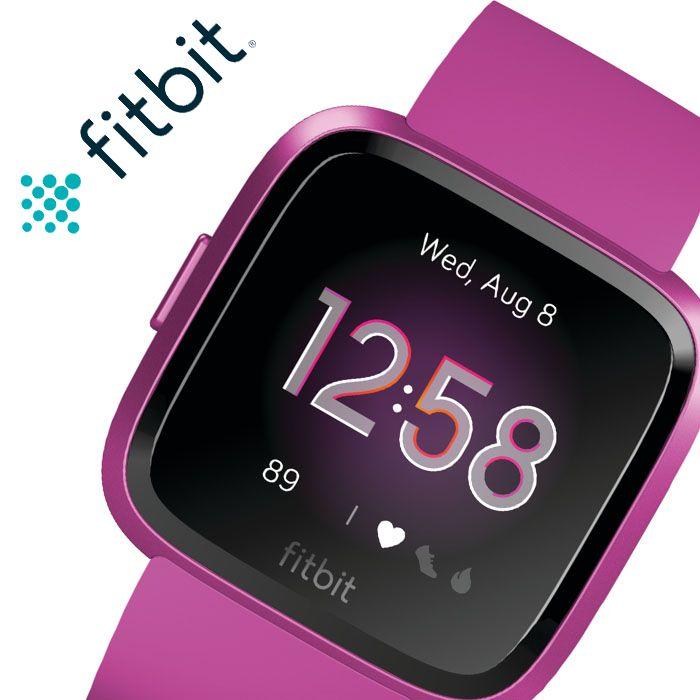 フィットビット 腕時計 Fitbit 時計 フィット ビット スマートウォッチ ヴァーサライト Versa-Lite メンズ レディース FB415PMPM [ 人気 ブランド おすすめ 防水 スポーツ トレーニング ジム ランニング 通知 機能 iPhone 連携 健康管理 スポーツウォッチ ウェアラブル ]