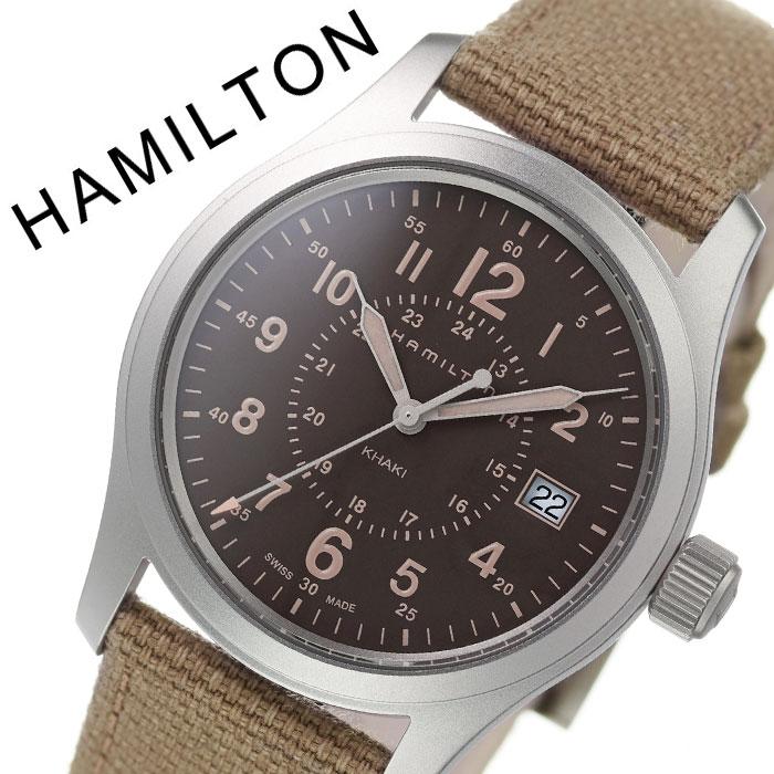 ハミルトン 腕時計 HAMILTON 時計 カーキ フィールド Khaki Field メンズ ブラウン H68201993 人気 ブランド レザー 革ベルト シンプル 社会人 大人 男性 ビジネス スイス スーツ おしゃれ ファッション カジュアル 誕生日 バースデー 記念日 プレゼント 父の日 ギフト