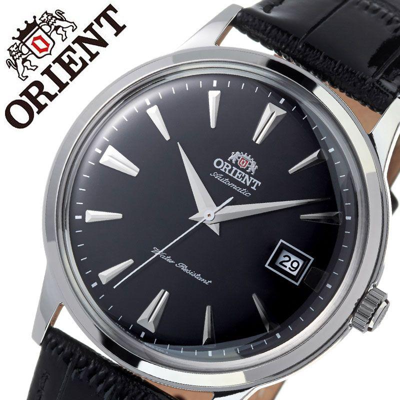 オリエント 腕時計 ORIENT 時計 バンビーノ クラシック BAMBINO CLASSIC メンズ ブラック ORW-FAC00004B0 ブランド 人気 海外モデル 防水 レトロ アンティーク 調 オートマチック 自動巻き 自動巻 機械式 レザー ベルト 革 ベルト ビジネス 仕事 スーツ 誕生日 父の日 ギフト
