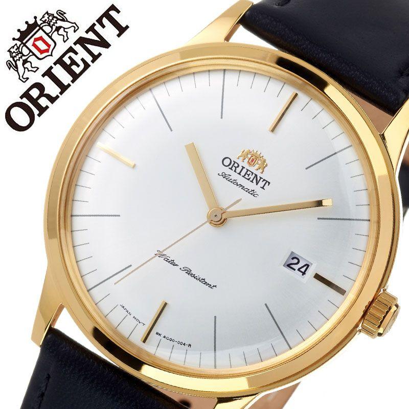 オリエント 腕時計 ORIENT 時計 バンビーノ クラシック BAMBINO CLASSIC メンズ ホワイト ORW-FAC0000BW0 ブランド 人気 海外モデル 防水 レトロ アンティーク 調 オートマチック 自動巻き 自動巻 機械式 レザー ベルト 革 ベルト ビジネス 仕事 スーツ 誕生日 父の日 ギフト