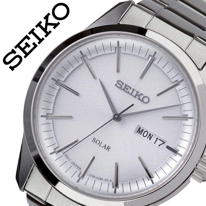 [当日出荷] セイコー 腕時計 SEIKO 時計 海外セイコー 海外 SEIKO メンズ ホワイト SNE523P1 [ 海外モデル 人気 ブランド おすすめ 防水 逆輸入 社会人 スーツ フォーマル ビジネス おしゃれ カジュアル スタイリッシュ プレゼント ギフト ]送料無料
