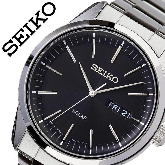 [当日出荷] セイコー 腕時計 SEIKO 時計 海外セイコー 海外 SEIKO メンズ ブラック SNE527P1 海外モデル 人気 ブランド おすすめ 防水 逆輸入 社会人 スーツ フォーマル ビジネス おしゃれ カジュアル スタイリッシュ プレゼント ギフト 送料無料