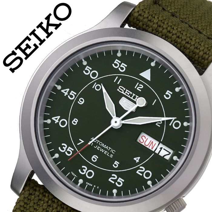 【1,394円引き】セイコー 腕時計 SEIKO 時計 海外セイコー 海外 SEIKO メンズ カーキ SNK805K2 海外モデル 人気 ブランド おすすめ 防水 逆輸入 社会人 スーツ フォーマル ビジネス おしゃれ カジュアル スタイリッシュ プレゼント 父の日 ギフト