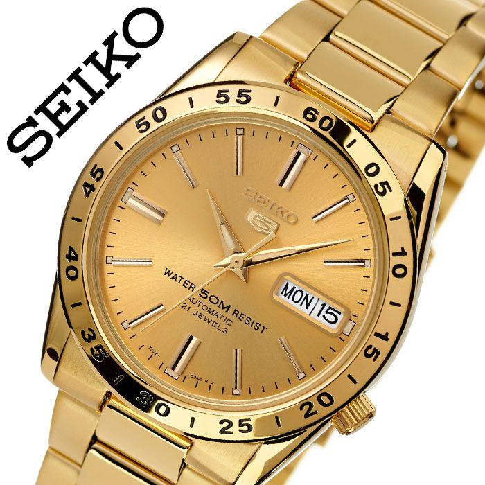 セイコー 腕時計 SEIKO 時計 セイコーファイブ 5 メンズ ゴールド SNKE06K1 人気 ブランド 防水 自動巻き 自動巻 オートマチック オートマ 機械式 海外モデル 海外セイコー 逆輸入 カレンダー 社会人 スーツ 仕事 メタル メタルベルト 誕生日 プレゼント 父の日 ギフト