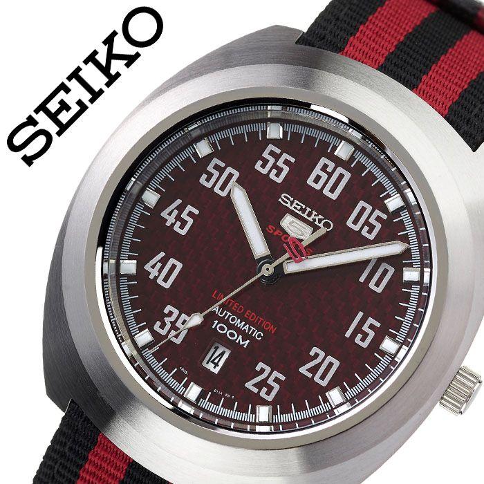 セイコー 腕時計 SEIKO 時計 海外セイコー 海外 SEIKO セイコーファイブ SEIKO5 メンズ レッド SRPA87K1 海外モデル 人気 ブランド おすすめ 防水 逆輸入 社会人 スーツ フォーマル ビジネス おしゃれ カジュアル スタイリッシュ プレゼント 父の日 ギフト
