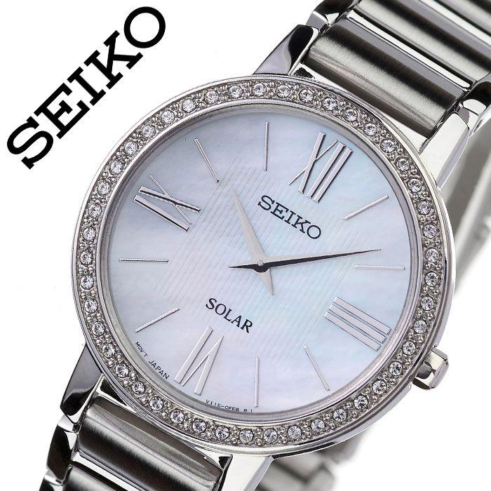 [当日出荷] セイコー 腕時計 SEIKO 時計 海外セイコー 海外 SEIKO レディース ホワイト SUP431P1 [ 海外モデル 人気 ブランド おすすめ 防水 逆輸入 社会人 スーツ フォーマル ビジネス おしゃれ カジュアル スタイリッシュ プレゼント ギフト ]送料無料