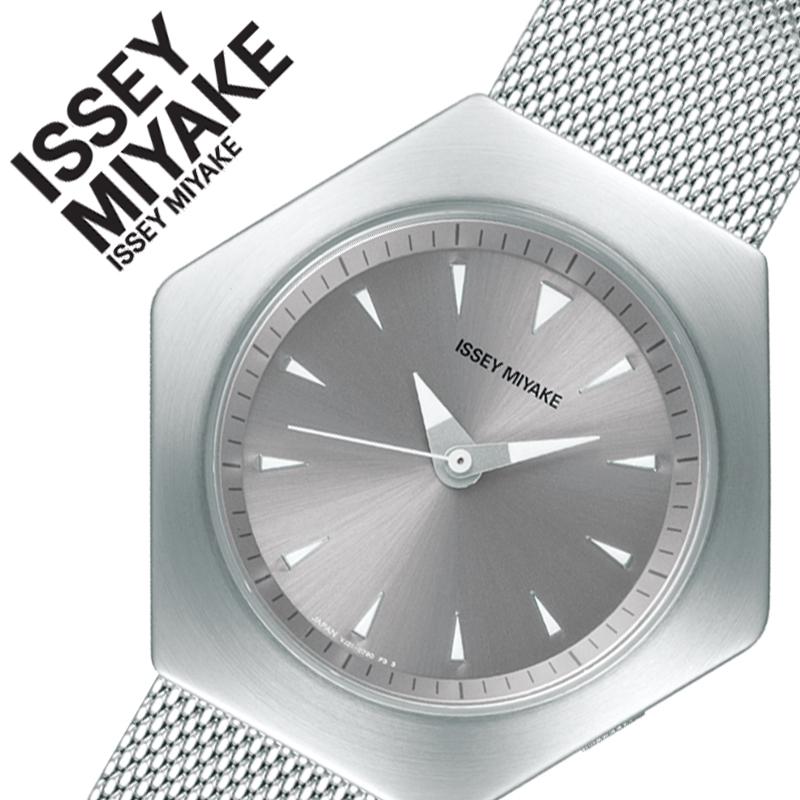 【5年保証対象商品】イッセイミヤケ 腕時計 ISSEY MIYAKE 時計 ロク ROKU メンズ レディース シルバー NYAM001 [ 正規品 人気 ブランド 六角形 デザイナーズ 個性的 シンプル モード 系 デザイン 日本製 ペア おそろい 誕生日 バースデー 記念日 お祝い プレゼント ギフト ]