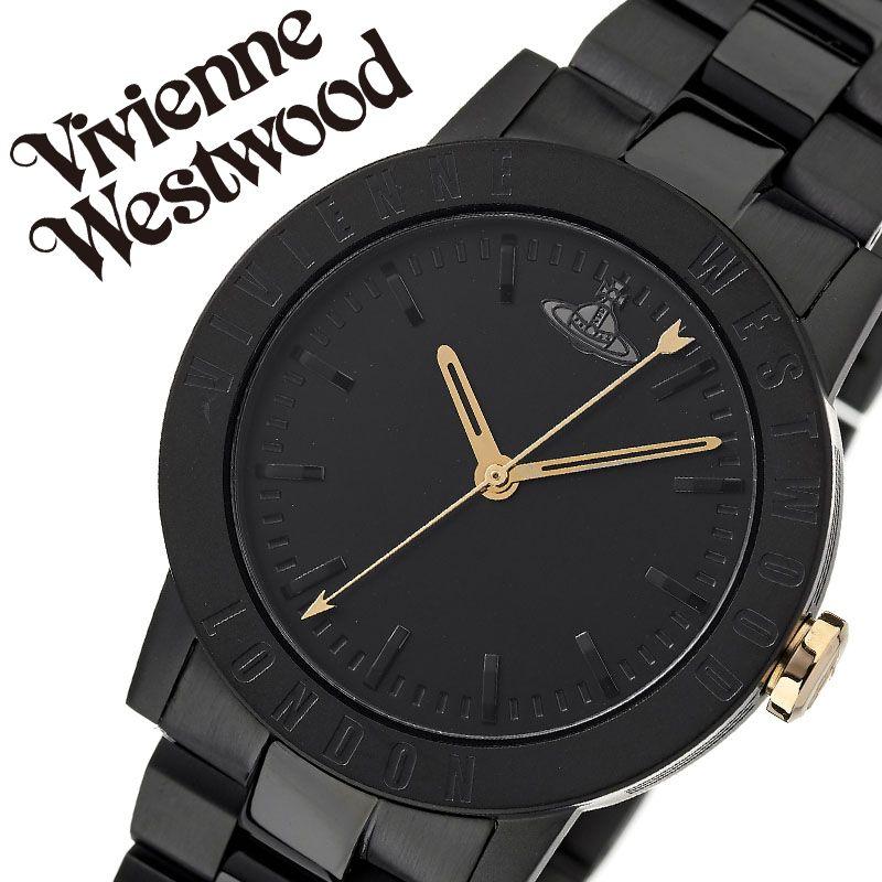 ヴィヴィアンウエストウッド 腕時計 VivienneWestwood 時計 ヴィヴィアン ウエストウッド Vivienne Westwood レディース ブラック VV213BKBK [ 人気 ブランド ビビアン おすすめ おしゃれ かわいい オーブ メタル カジュアル 大人 女性 誕生日 記念日 プレゼント ギフト ]