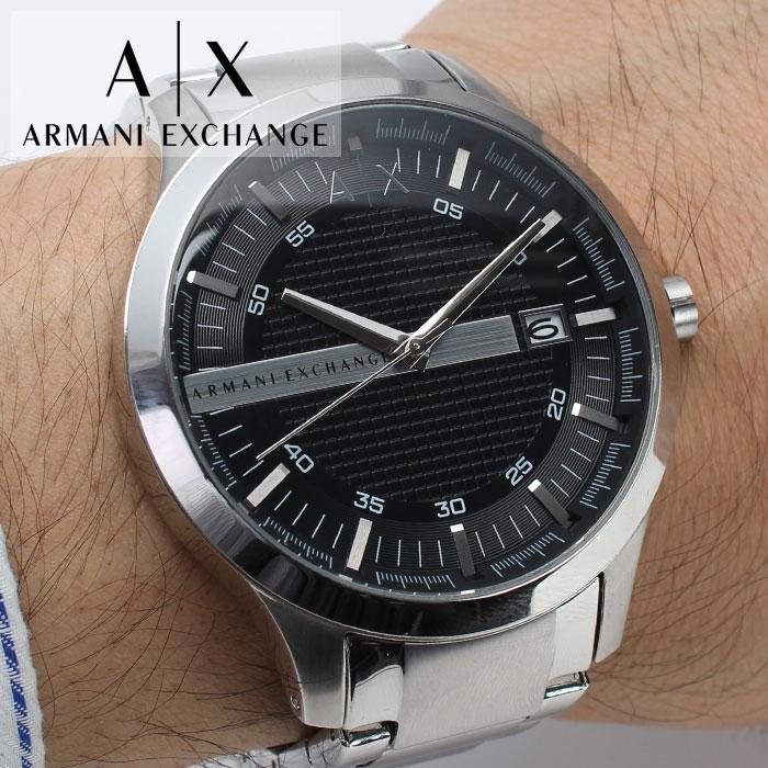 アルマーニエクスチェンジ 時計 ArmaniExchange 腕時計 アルマーニ エクスチェンジ 腕時計 Armani Exchange メンズ 男性 向け シルバー AX2103 [ 夫 旦那 彼氏 人気 高級 ブランド おすすめ シンプル ビジネス スーツ プレゼント ギフト ][送料無料]