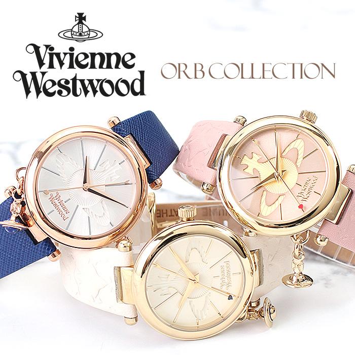 【オーブが揺れ動く♪】ヴィヴィアン 時計 VivienneWestwood 腕時計 ヴィヴィアンウエストウッド Vivienne Westwood ヴィヴィアン ウェストウッド ビビアン ヴィヴィアン時計 レディース 女性 向け 彼女 妻 嫁 [ オーブ Orb ピンク ゴールド プレゼント ブランド 人気 ]