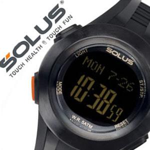【5年保証対象】ソーラス腕時計 SOLUS時計 SOLUS 腕時計 ソーラス 時計 心拍時計 ハートレートモニター メンズ レディース 男女兼用時計 01-101-01 正規品 スポーツ ダイエット エクササイズ 送料無料 プレゼント 祝い