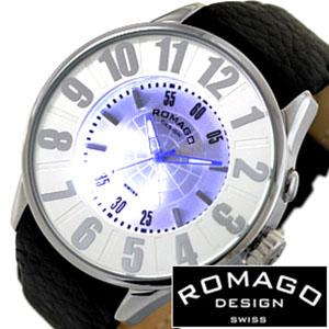 [当日出荷] ロマゴ 時計 ROMAGO 時計 ロマゴ 腕時計 ROMAGO 腕時計 ロマゴデザイン ROMAGODESIGN ロマゴ デザイン ROMAGO DESIGN ロマゴデザイン腕時計 ヌメレーション シリーズ NUMERATION SERIES メンズ レディース RM007-0053ST-SV レザーベルト 送料無料