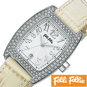 フォリフォリ腕時計[FolliFollie](FolliFollie 腕時計 フォリフォリ 時計 フォリフォリ時計) レディース時計 S922ZI-SLV-IVY[フォリフォリ IVY ギフト バーゲン プレゼント ご褒美][おしゃれ 腕時計]