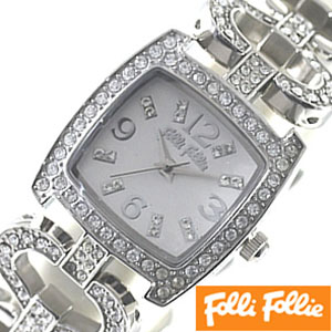 [当日出荷] フォリフォリ腕時計 FolliFollie腕時計 フォリフォリ 時計 FolliFollie 時計 フォリフォリ 腕時計 Folli Follie フォリ フォリ FolliFollie時計 フォリフォリ時計 レディース WF5T120BPS 人気 新作 定番 送料無料 プレゼント ギフト お祝い
