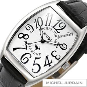 ミッシェルジョルダン腕時計 MICHEL JURDAIN MICHEL JURDAIN 腕時計 ミッシェルジョルダン 時計 天然ダイヤ入り カサブランカ ペアウォッチ メンズ時計MJ-SG-1000-11 プレゼント 祝い