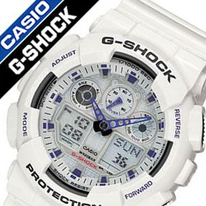 Gショック Gshock ジ-ショック g-shock G-ショック 腕時計 時計 ハイパーカラーズ(Hyper Colors) 時計 GA-100A-7ADR[人気 定番 ブランド スポーツウォッチ トレーニング 登山 マラソン ランニング ジム][バーゲン プレゼント ギフト][おしゃれ 腕時計]