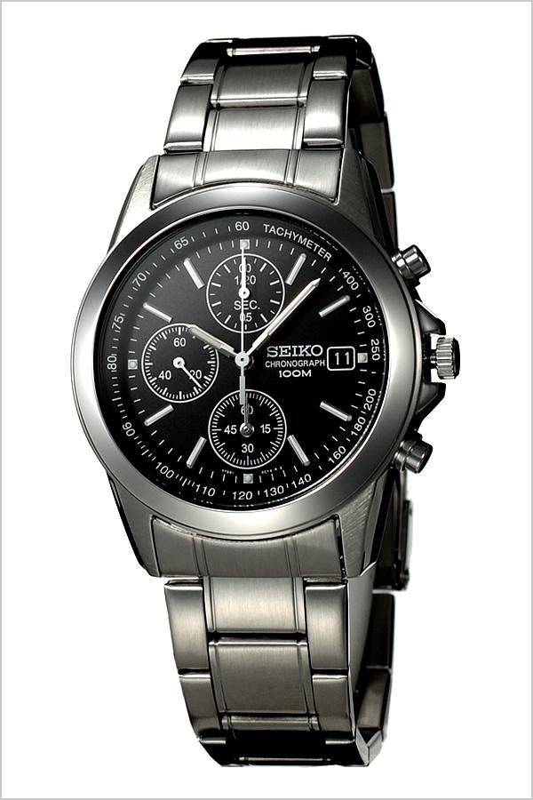 [セイコー腕時計[SEIKO時計](SEIKO 腕時計 セイコー 時計)クロノグラフ メンズ時計 SND309PC[ギフト バーゲン プレゼント ご褒美][おしゃれ 腕時計]