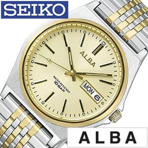 【5年保証対象】アルバ腕時計 ALBA時計 ALBA 腕時計 アルバ 時計 メンズ時計 AIGT001 生活 防水 プレゼント 祝い