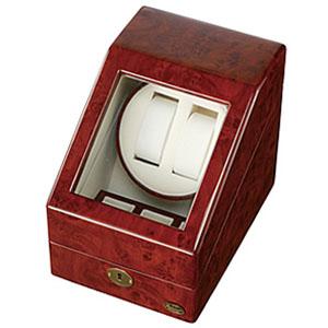 自動巻き上げ機 自動巻き機 ワインディングマシーン 腕時計 時計 ワインディング マシン マシーン ウォッチワインダー ウォッチ ワインダー ワインダー 時計ケース 腕時計 ケース 腕時計ケース 木製 1本 2本 4本 木製2連 自動巻 ディスプレイ インテリア 機械式 送料無料