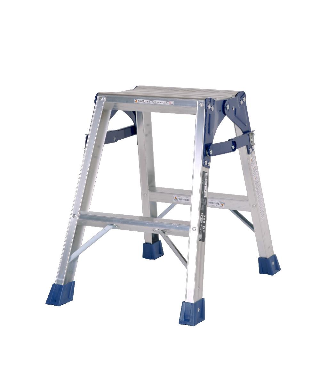 【毎月1日・15日・25日はP-starの日】  天板と設置寸法が広く、より安定感のあるはしご兼用脚立 CM-60C 2段 ( 2尺 脚立 梯子 はしご 折りたたみ 軽量 送料無料 安定感 )