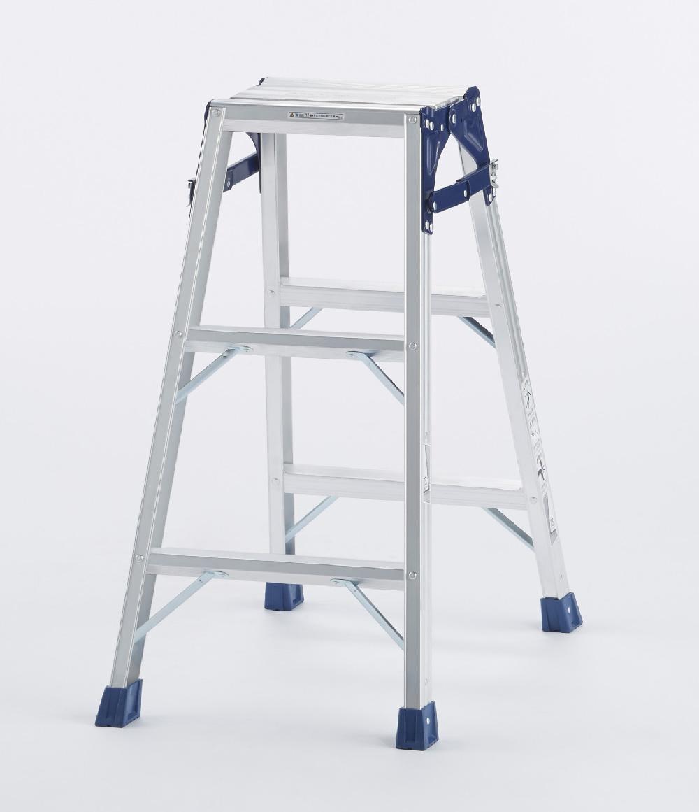 【毎月1日・15日・25日はP-starの日】  天板と設置寸法が広く、より安定感のあるはしご兼用脚立 CM-90C 3段 ( 3尺 脚立 梯子 はしご 折りたたみ 軽量 送料無料 安定感 )