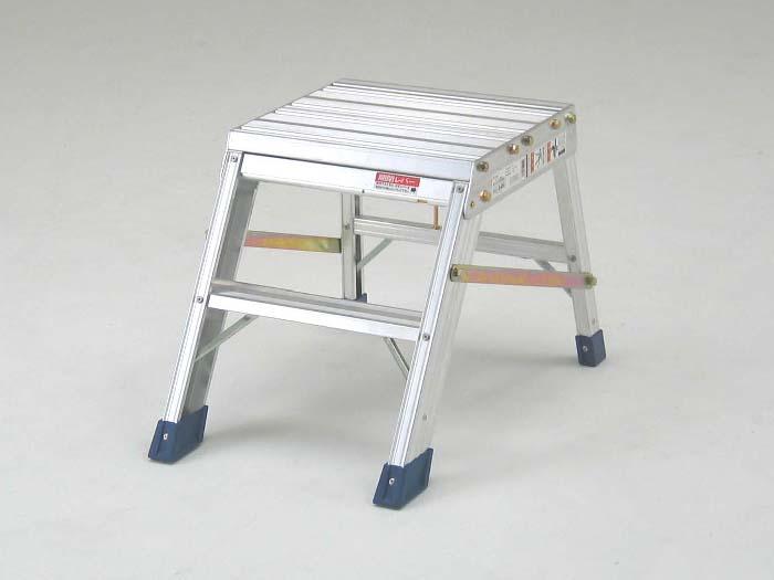 折りたたみ式作業台のロングセラー製品 AG-B400 2段 ( 作業台 折りたたみ コンパクト 2段 軽量 送料無料 )