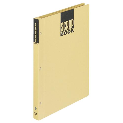限定モデル 台紙に上質クラフト紙使用 新聞 雑誌などの切り抜き保存に コクヨ スクラップブックD とじこみ式 A4 中紙28枚 1冊 クラフト 背幅25mm 値下げ ラ-40N