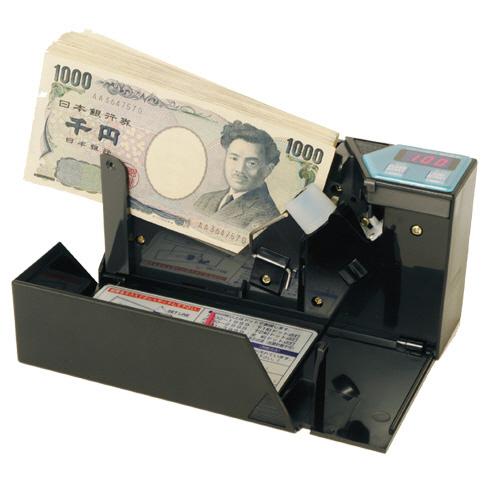 【お取寄せ品】 エンゲルス 小型紙幣計数機 ハンディーカウンター 枚数指定ストップ機能なし ブラック AD-100-01 1台 【送料無料】