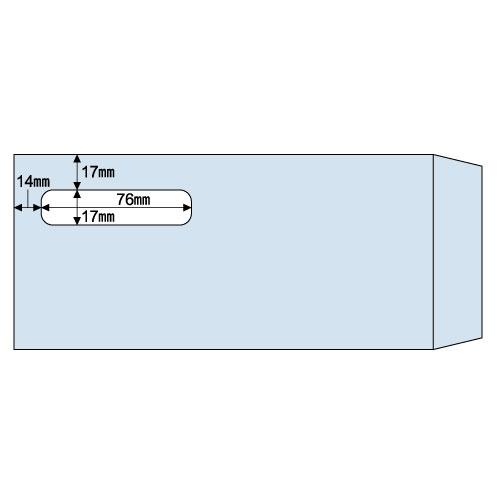 ヒサゴ 窓つき封筒 (給与明細書用/GB1172専用) 215×100mm MF31T 1箱(1000枚) 【送料無料】